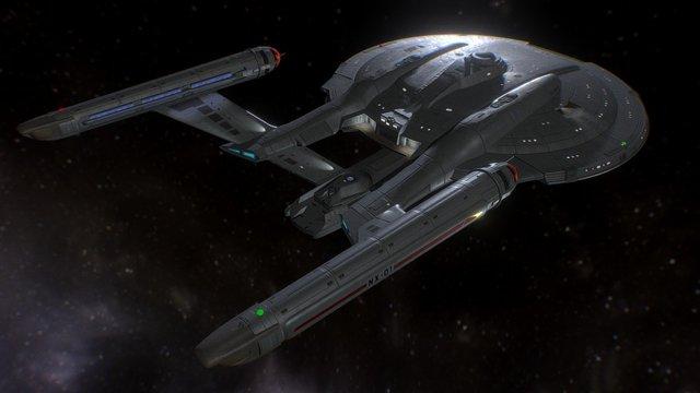 NX-01 Refit (Season 5) 3D Model