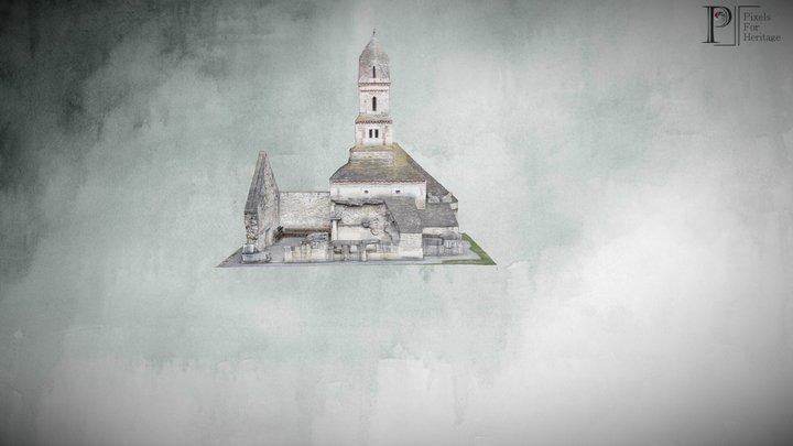 Biserica din piatră de la Densuș (HD / RO) 3D Model