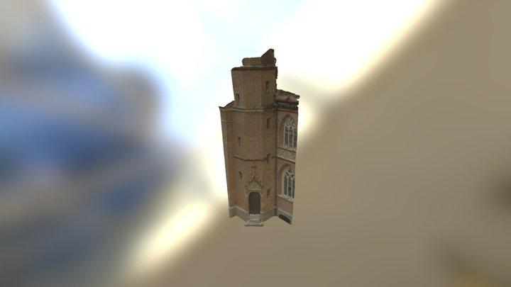 Church Door 3D Model