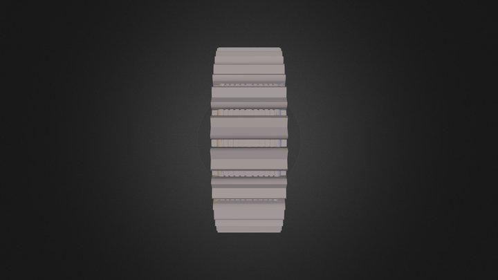 נצן זיגלמן גלגל 3D Model