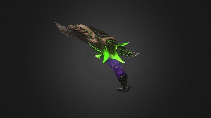 Fel core Dagger 3D Model
