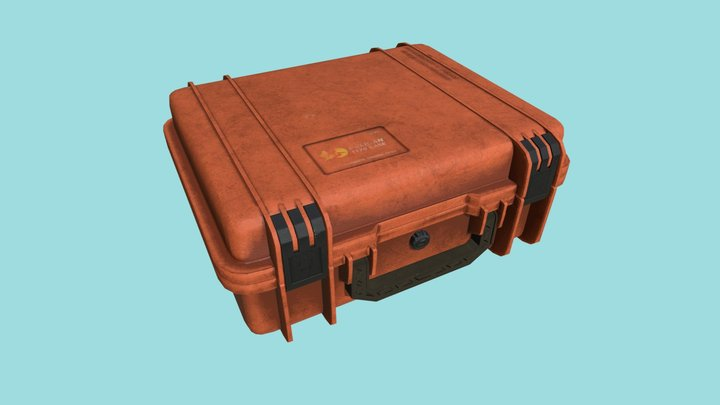 Pelican Case Game Ready 3D Model