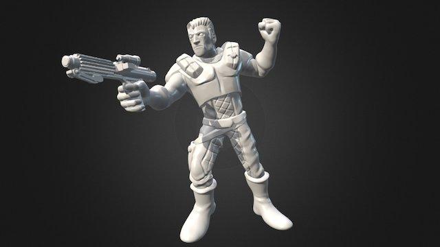 "Dash Rendar - ""Age of Rebellion"" 3D Model"
