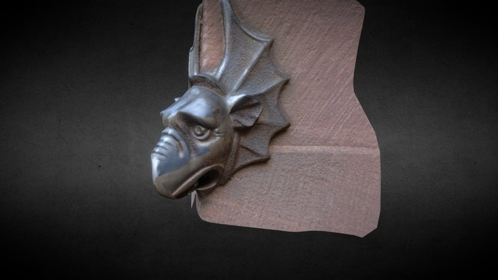 Gothic Gargoyle 3D Model