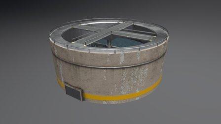 Purification Building 3D Model