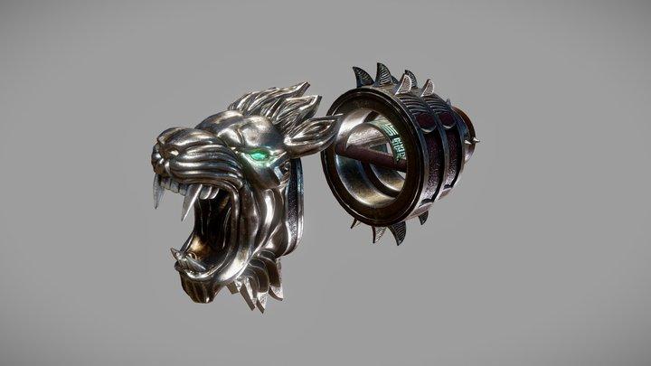 Nemean Cestus - God of War 3D Model