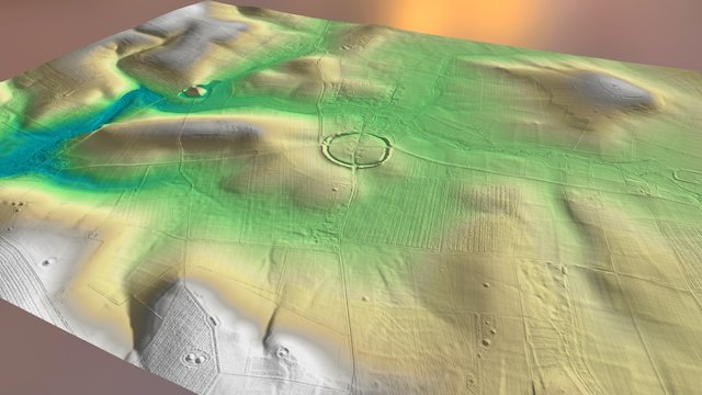 Avebury & Silbury Hill LiDAR Archaeology 3D Model