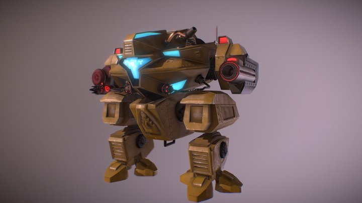 SCF_09 Modified Sci-fi 3D Model