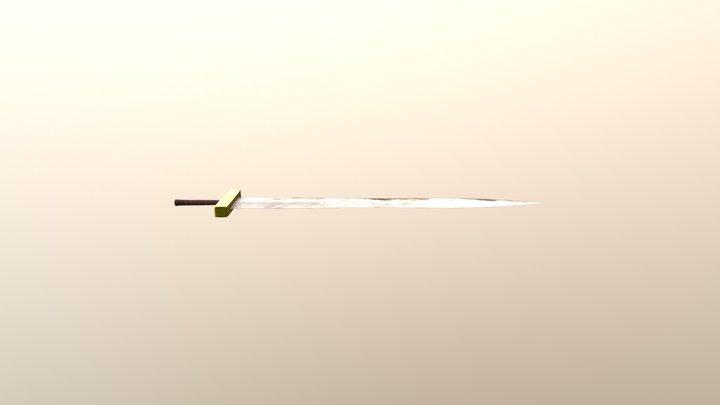 Fantasy Sword - Low Res 3D Model