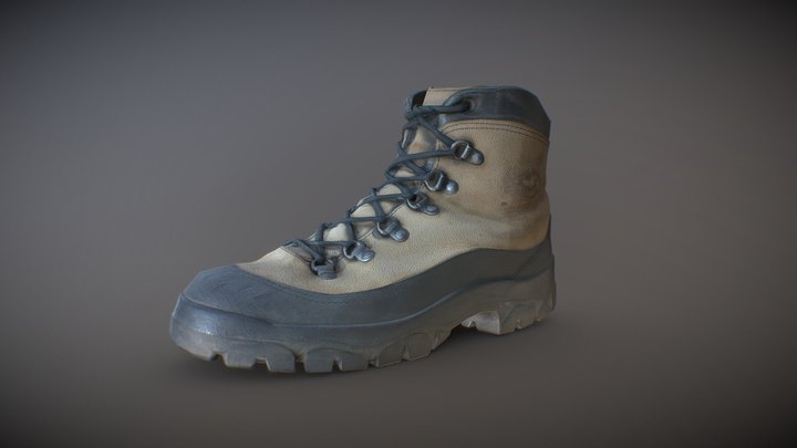 Vibram Boots 01 (Downloadable) 3D Model