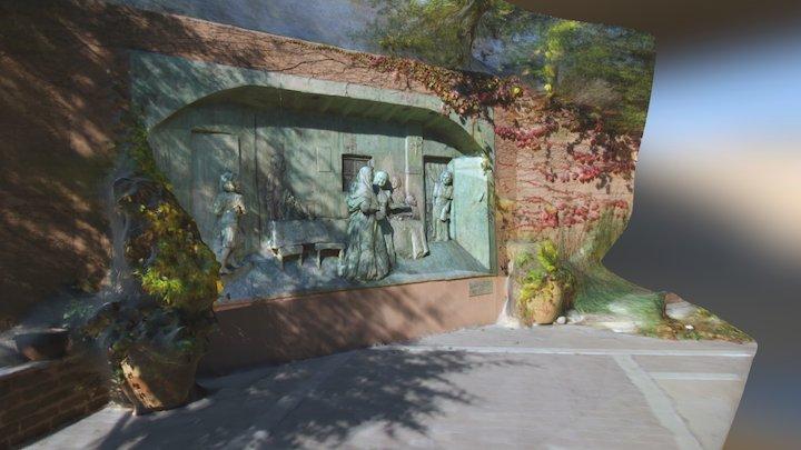 ABQ Biopark Curandera Garden 3D Model