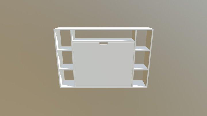 Bureau Mural 3D Model