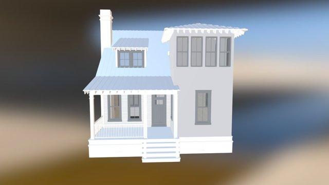 Water Oak 3D Model