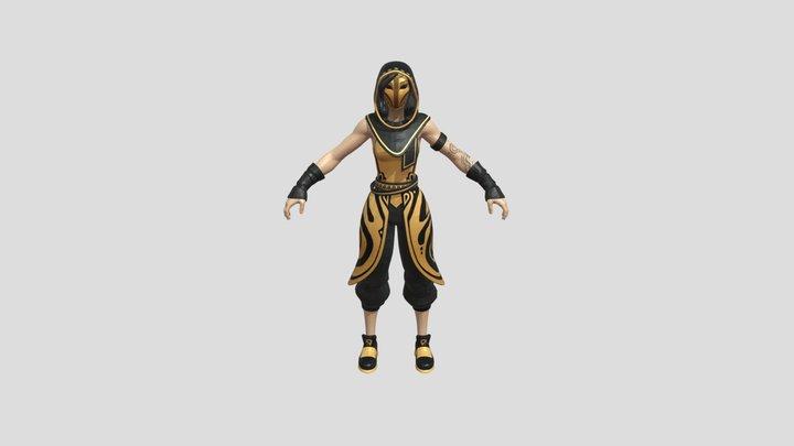 Fortnite Skins - Sandstorm Outfit 3D Model