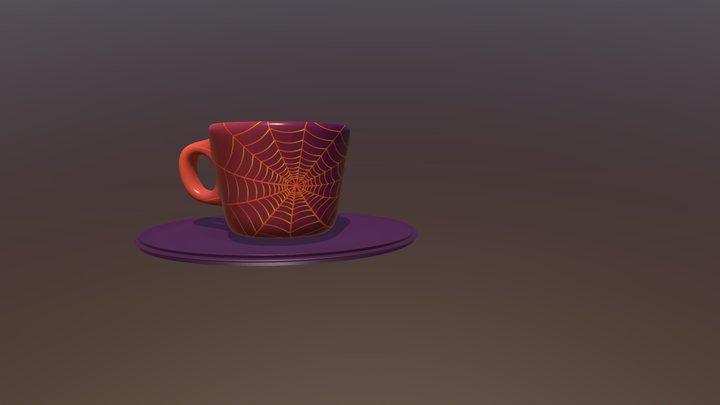 Tazzina Halloween 3D Model