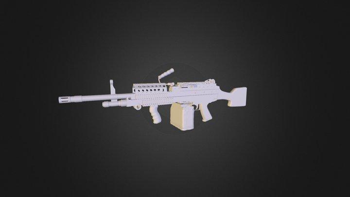 Weapon / MK48 3D Model