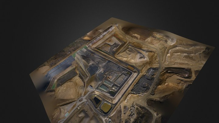 Waste Treatment 3D Model