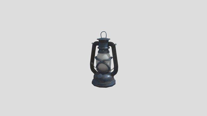 Rusted Lantern 3D Model