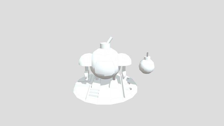 Bomberbot 3D Model
