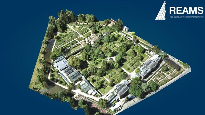 Oxford Botanic Garden 2020 3D Model