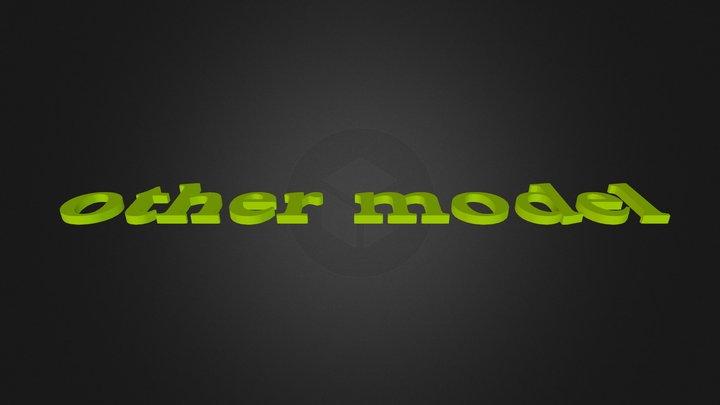 othermodel 3D Model
