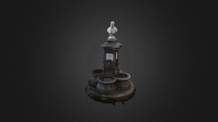 Busto de Bartolomé Cairasco y Figueroa 3D Model