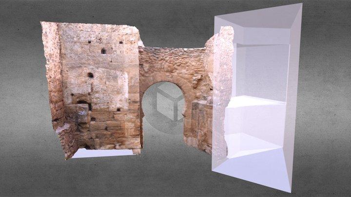 Puerta del Agua 3D Model