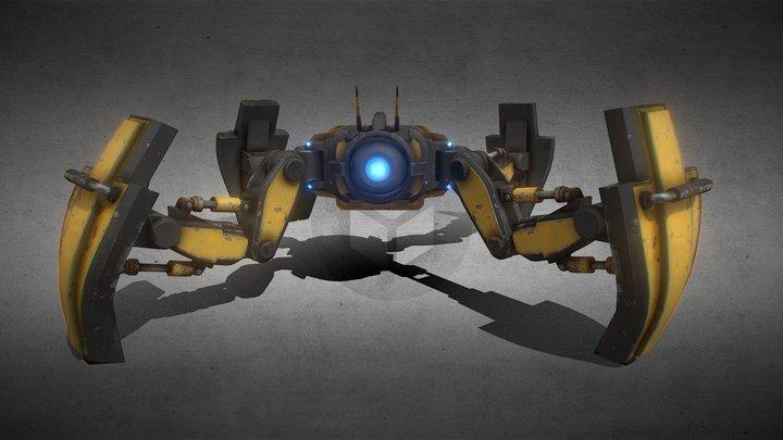 S3V The Robot 3D Model