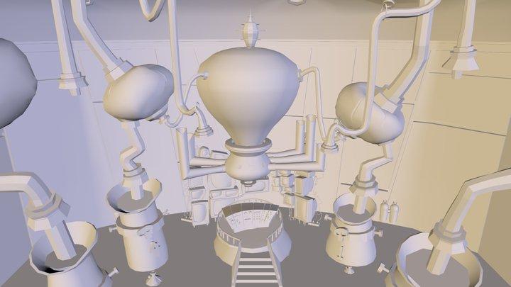 ESCENARIO CLASE 3D Model
