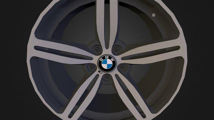 Wheel _BMW_ M6_game 3D Model