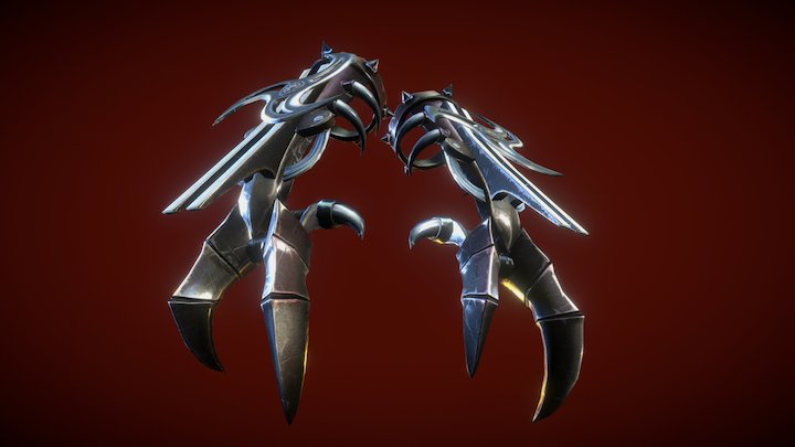 Gauntlet from Six Guns 3D Model