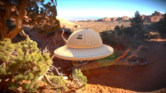 French Helmet 3D Model