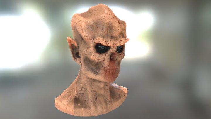 Demon's head 3D Model