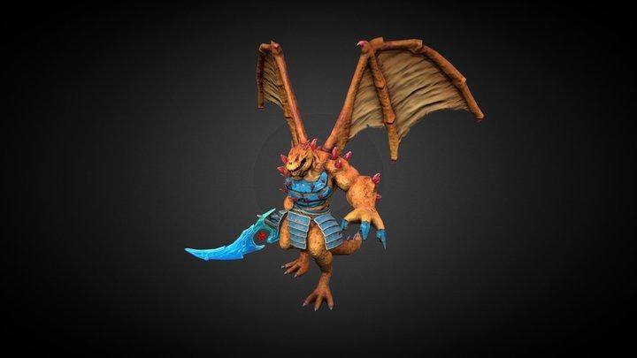 DragonBoss 3D Model