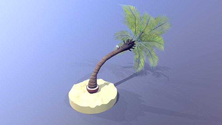 Sea vibes - LowPolyPlantChallenge 3D Model