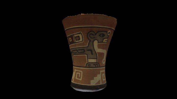 Tiwanaku Vessel (Replica) 3D Model