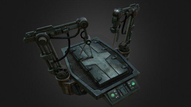 """Mechanicus Table"" - Laboratory 3D Model"