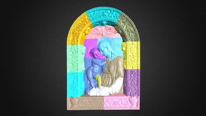 Madonna degli Architetti (all parts) 3D Model