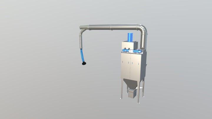 FMC system 3D Model