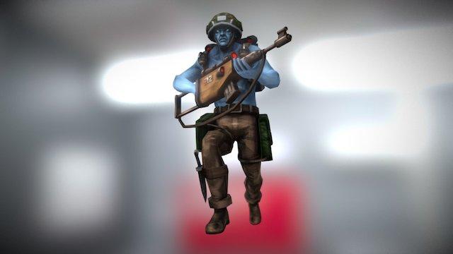 Rogue Trooper 3D Model