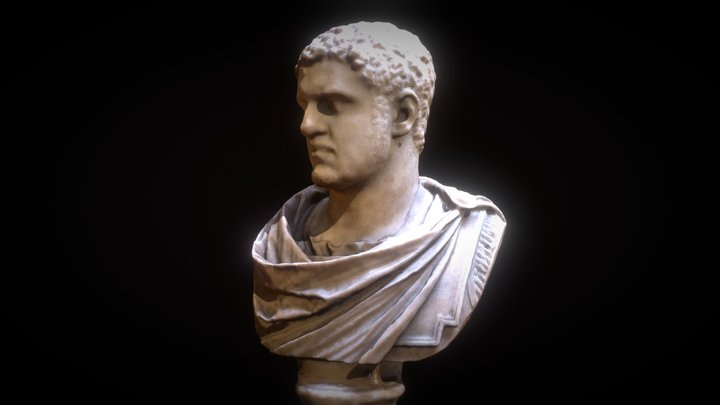 Emprereur Caracalla 3D Model