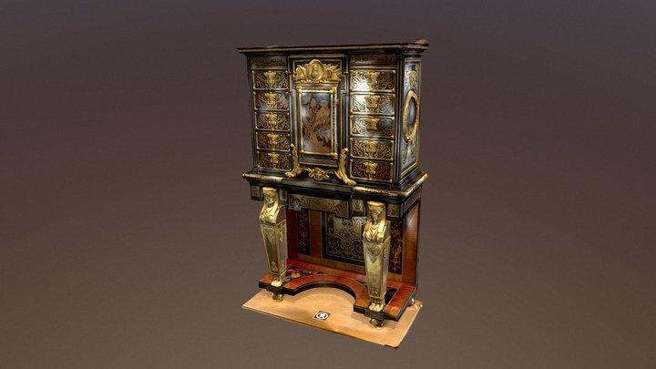 Boulle Cabinet 3D Model