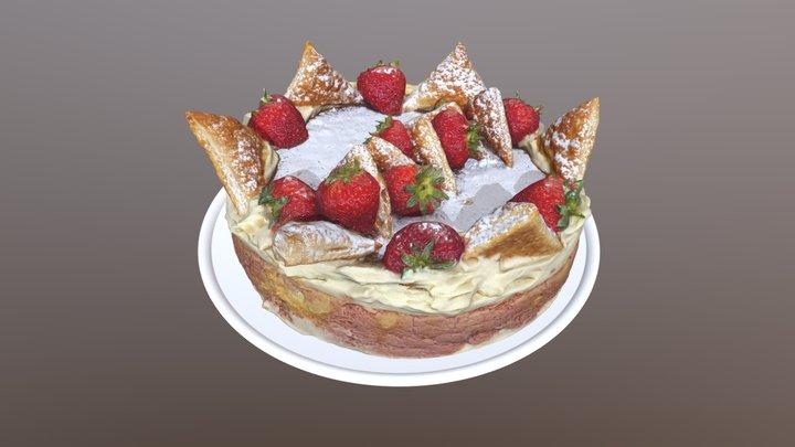 Diplomatic Cake 3D Model