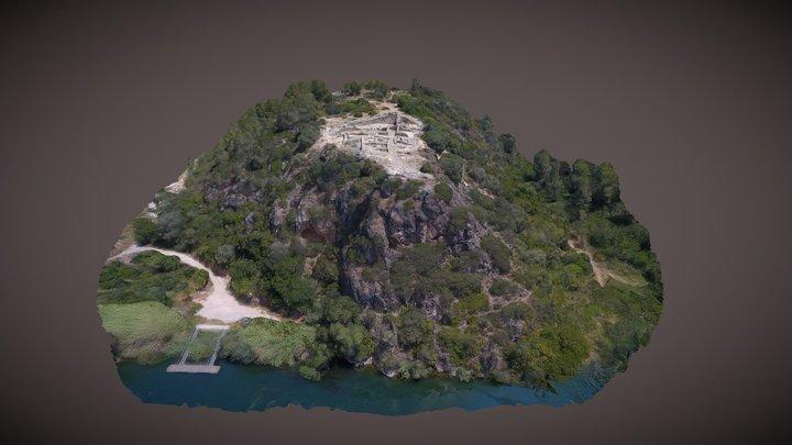 Poblat ibèric del Castellot de la Roca Roja 3D Model