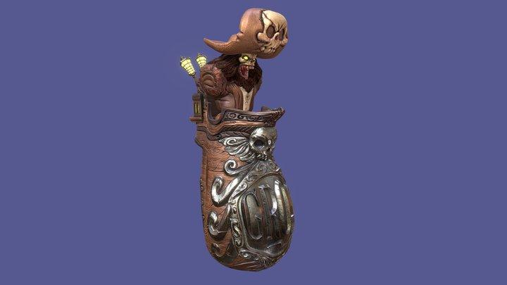 Pirate Grog Mug 3D Model