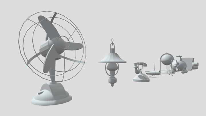 Draftpunk4_bloking_dz2 3D Model