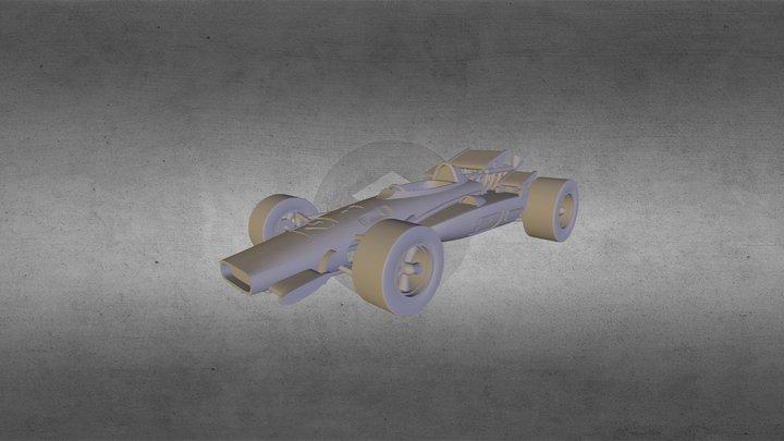 1969BrawnerHawk 3D Model