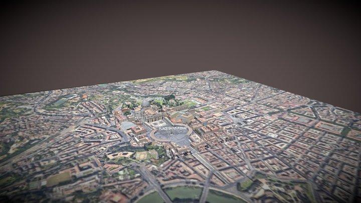 Vatican City 3D Model