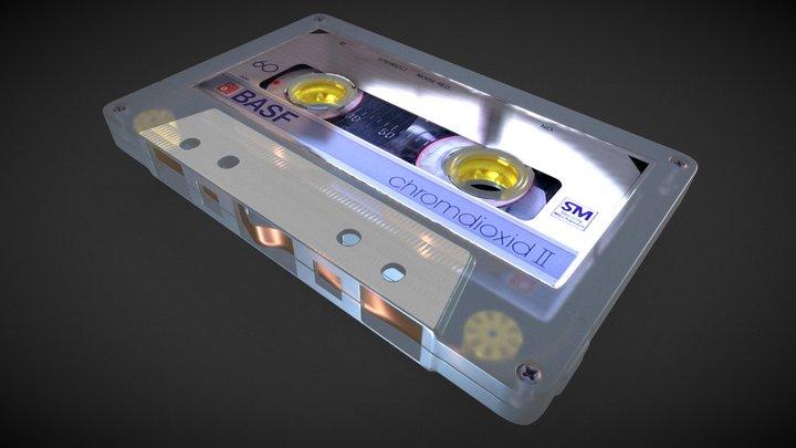 Audio Cassette 3D Model