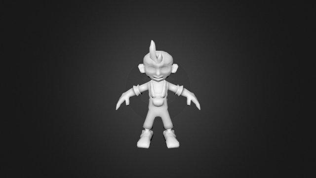 Boybonesriggedpainted DONOTTOUCH 3D Model